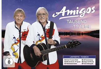 Die Amigos - Tausend Träume (Ltd.Fanbox Edition)  - (CD + DVD Video)