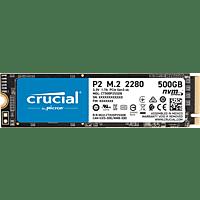 CRUCIAL P2 500 GB, 500 GB, SSD, intern