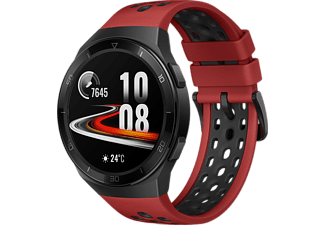"Smartwatch - Huawei Watch GT 2E, 46mm, 1.39"", 14 Días, Kirin A1, 4GB, 5 ATM, AMOLED, Rojo"
