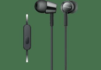 SONY MDR-EX155AP, In-ear Kopfhörer Schwarz