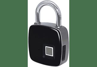 Candado -  muvit iO Digital Arco rígido, IP65, Hasta 10 entradas de huella, Negro