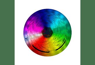 Luces LED - muvit iO Tira LED WiFi, 5 metros, Compatible con asistentes de voz, Multicolor