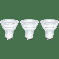 OK. OKLED-GU10-4.6W 3erPack LED Leuchtmittel GU10 Warmweiß 5 Watt 345 Lumen
