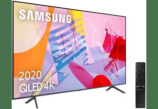 Tv Qled 50 Samsung Qled 4k 2020 50q60t Smart Tv 4k Uhd Ia Asistente De Voz Integrado Sonido Inteligente