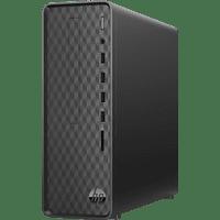 HP Slim Desktop S01-aF0307ng, Desktop PC mit AMD Ryzen 3 Prozessor, 8 GB RAM, 512 GB SSD, AMD Radeon Grafik
