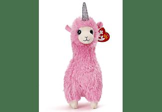 TY Lana Lama mit Horn 15cm Plüschfigur Mehrfarbig