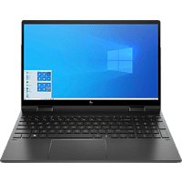HP ENVY x360 15-ee0359ng, Convertible mit 15,6 Zoll Display, Ryzen™ 5 Prozessor, 16 GB RAM, 1 TB SSD, Radeon Vega 8, Schwarz