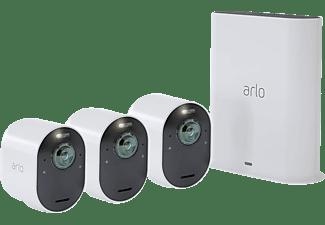 ARLO VMS5340-100EUS Ultra Kit 3er Set, Überwachungskamera, Auflösung Foto: 4k-HDR, Auflösung Video: 4K-HDR-Video