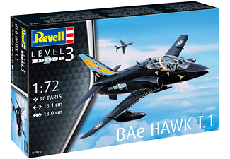 REVELL Model Set BAE Hawk T.1 Modellbausatz, Mehrfarbig