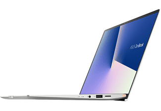 ASUS ZenBook 14 UM433DA-A5042T, Notebook mit 14 Zoll Display, AMD Ryzen™ 7 Prozessor, 16 GB RAM, 1 TB SSD, Radeon™ RX Vega 10 Grafik, Icicle Silver