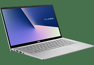 ASUS ZenBook Flip 14 UM462DA-AI046T, Notebook mit 14 Zoll Display, AMD Ryzen™ 7 Prozessor, 16 GB RAM, 512 GB SSD, Radeon™ RX Vega 10 Grafik, Light Grey