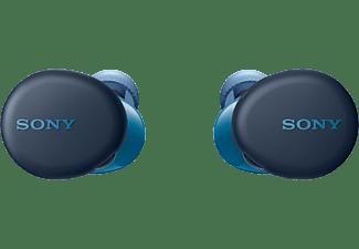 SONY Draadloze oortjes + Oplaadcase Blauw