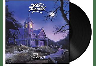 King Diamond - THEM (LTD.180 GR/BLACK VINYLPOSTER)  - (Vinyl)