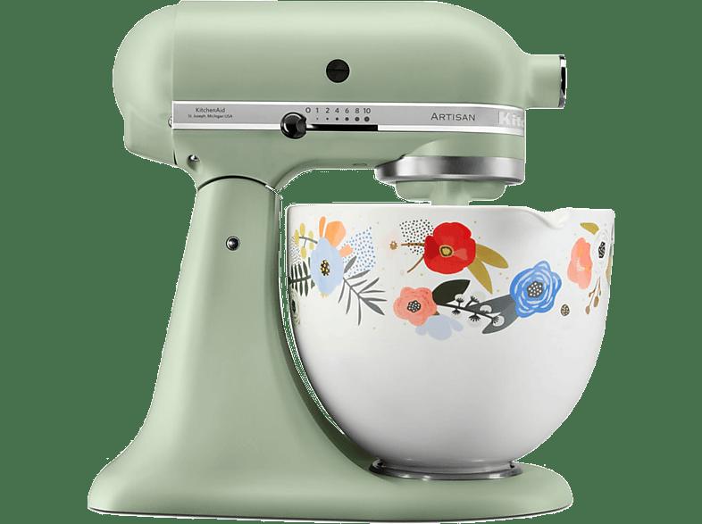 [mediamarkt.at] KITCHEN AID 4.8l Küchenmaschine Artisan 5KSM156SFEPI Pistazie um 379€ anstatt 498€