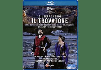 Netrebko/Eyvazov/Morandi/Orchestra Arena di Verona - Il Trovatore  - (Blu-ray)