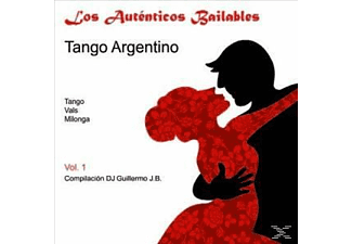 (compiled By) Dj Guillermo - LOS AUTENTICOS BAILABLES 1 - TANGO ARGENTINO  - (CD)