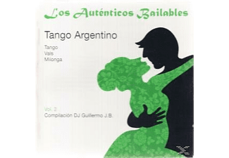 (compiled By) Dj Guillermo - LOS AUTENTICOS BAILABLES 2  - (CD)