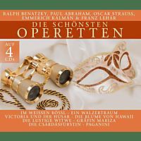 K Lm N - Benatzky - Abraham - Strauss - Leh R - DIE SCHOENSTEN OPERETTEN AUF 4 - [CD]