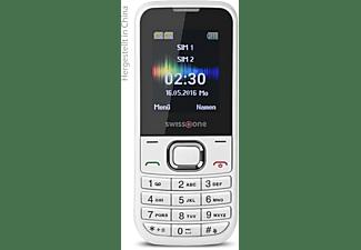 SWISSTONE SC 230 Handy, Weiß