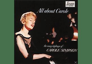 Carole Simpson - ALL ABOUT CAROLE  - (CD)
