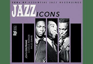 John Coltrane, Miles Davis, Charlie Parker - Jazz Icons  - (CD)
