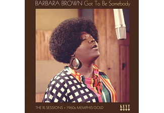 Barbara Brown - Got To Be Somebody-The XL Sessions (Black Vinyl)  - (Vinyl)
