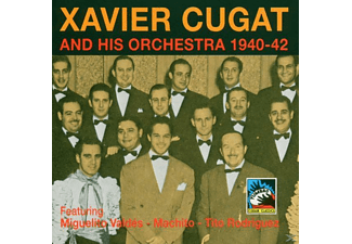 Xavier Orchestra Cugat - AND HIS ORCHESTRA 1940-42  - (CD)
