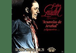 Carlos Gardel - ACUARELAS DE ARRABAL  - (CD)