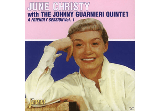 June & The Johnny Guarnier Christy - A FRIENDLY SESSION 1  - (CD)