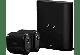 ARLO Pro 3 Black, 2 QHD-Kamera-Sicherheitssystem, 2K HDR