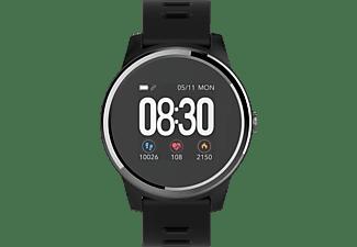SWISSTONE SW 660 ECG Smartwatch Kunststoff, 215 mm, Schwarz