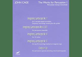 Percussion Group Cincinnatti - Imaginary Landscapes 1-5/Credi  - (DVD)