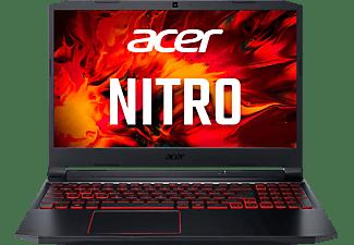 ACER Nitro 5 (AN515-44-R3XX), Gaming Notebook mit 15,6 Zoll Display, Ryzen™ 5 Prozessor, 8 GB RAM, 512 GB SSD, GeForce GTX 1650, Schwarz/Rot