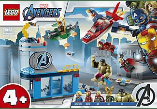 LEGO 76152 Avengers Wrath of Loki Spielset, Mehrfarbig