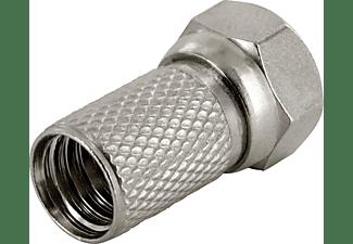 SCHWAIGER Set (Ø 7 mm), 2 F-Stecker + 1 Gummihülle F-Stecker