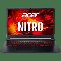 ACER Gaming Notebook Nitro 5 AN517-52-77DS Schwarz, i7-10750H, 16GB/1TB, RTX 2060, 17.3 FHD 120Hz