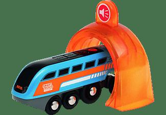 BRIO Smart Tech Sound Lok mit Aufnahmefunktion RW Trains, Mehrfarbig