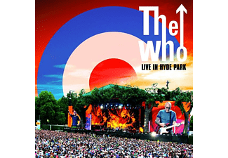 The Who - LIVE IN HYDE PARK (COLOURED)  - (Vinyl)
