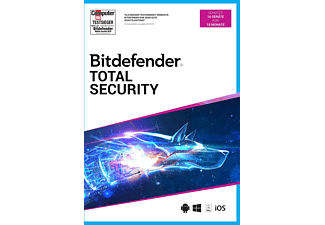 PC/Mac - Bitdefender Total Security (10 Geräte/18 Monate) /D