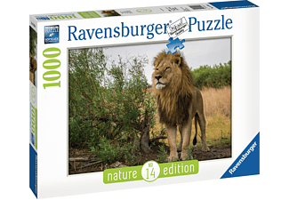 RAVENSBURGER Stolzer Löwe Puzzle Mehrfarbig