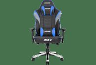 AKRACING Master MAX Gaming Stuhl, Schwarz/Blau/Grau