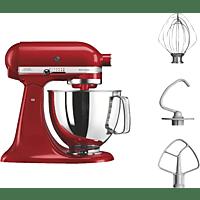 KITCHENAID BUNDLECOOKIEER ART ST.MIXER EMPIRE Küchenmaschine Rot (Rührschüsselkapazität: 4,8 Liter, 300 Watt)
