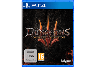 PS4 - Dungeons III : Complete Collection /F