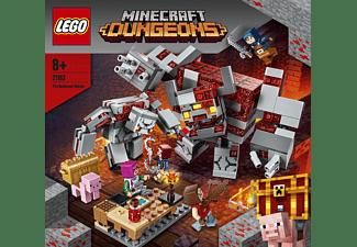 LEGO 21163 Das Redstone-Kräftemessen Bausatz, Mehrfarbig
