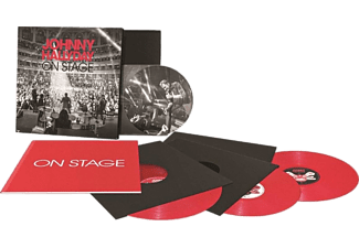 Johnny Hallyday - On Stage (Limited Red Vinyl and Picture Disc) (Díszdobozos kiadvány (Box set))