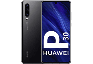 "Móvil - Huawei P30, Negro, 128 GB, 6 GB RAM, 6.1"", Kirin 980, 3650 mAh, Android"