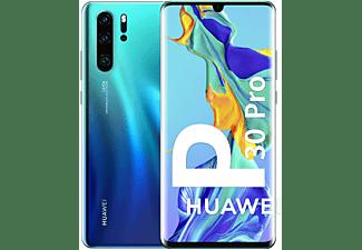 "Móvil - Huawei P30 Pro, Azul, 128 GB, 8 GB RAM, 6.47"" Full HD+, Kirin 980, 4200 mAh, Android"