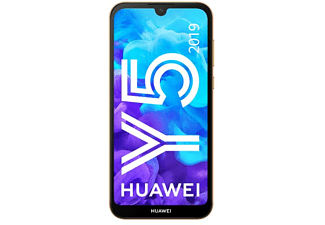 "Móvil - Huawei Y5 (2019), Marrón, 16 GB, 2 GB RAM, 5.71"" HD+, MT6761, 3020 mAh, Android"