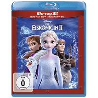 Die Eiskönigin 2 mit 6 exklusiven Sammelkarten 3D Blu-ray (+2D)