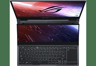ASUS ROG Zephyrus Duo 15 GX550LXS-HC021T, Gaming Notebook mit 15,6 Zoll Display, Intel® Core™ i9 Prozessor, 32 GB RAM, 1 TB SSD, 1 TB SSD, GeForce® RTX 2080 Super with ROG Boost, Gunmetal Gray